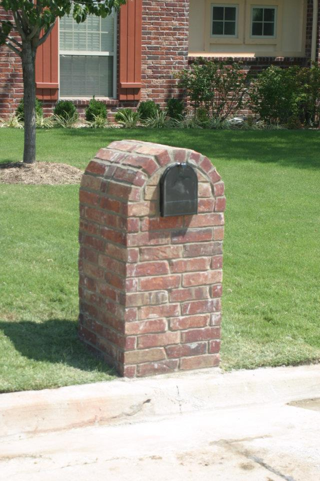 Brick Mailboxes :: Kodiak Custom Masonry