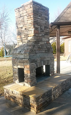 Kodiak Custom Masonry Tulsa Brick Works Outdoor